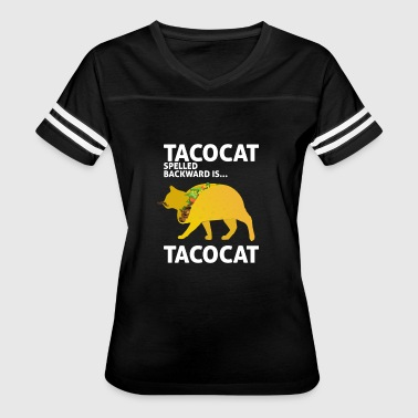 Tacocat Spelled Backwards Is Tacocat Taco Cat - Women's Vintage Sport T-Shirt