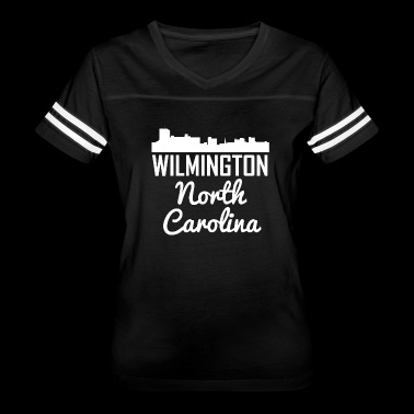 Wilmington North Carolina Skyline - Women's Vintage Sport T-Shirt