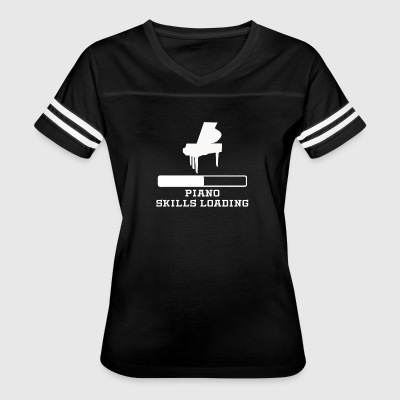 Piano Skills Loading - Women's Vintage Sport T-Shirt