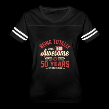 50 Years Of Being Awesome 2018 - Women's Vintage Sport T-Shirt
