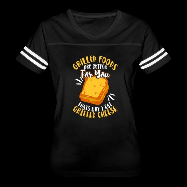 Grilled Foods are better for you - Women's Vintage Sport T-Shirt