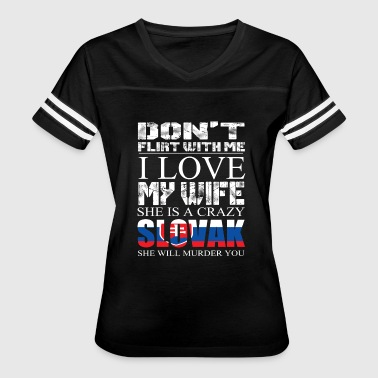 crazy slovak 2 - Women's Vintage Sport T-Shirt