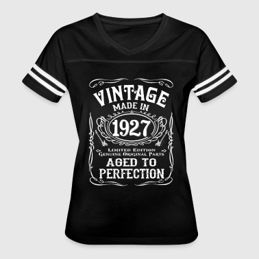 Vintage Made In 1927 - Women's Vintage Sport T-Shirt