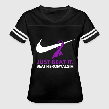 Just beat it beat fibromyalgia t-shirts - Women's Vintage Sport T-Shirt