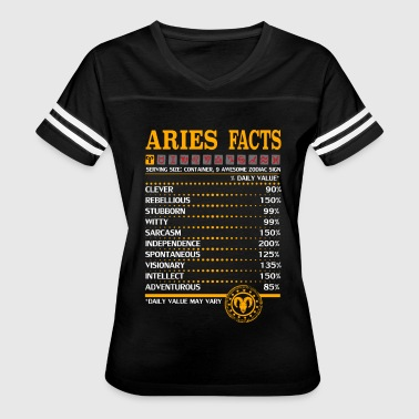 Aries Facts - Women's Vintage Sport T-Shirt