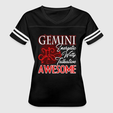 Awesome Gemini Shirt - Women's Vintage Sport T-Shirt