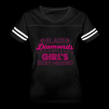 Black Diamonds Girl's Best Friend Gift - Women's Vintage Sport T-Shirt