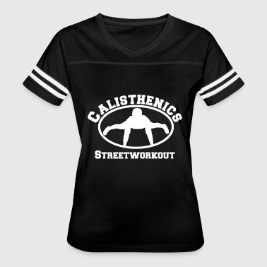 Calisthenics Streetworkout 3 - Women's Vintage Sport T-Shirt