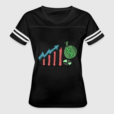 Money Investment Growth Value Investing Earnings - Women's Vintage Sport T-Shirt