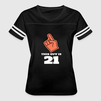 This Guy Is 21 - Women's Vintage Sport T-Shirt