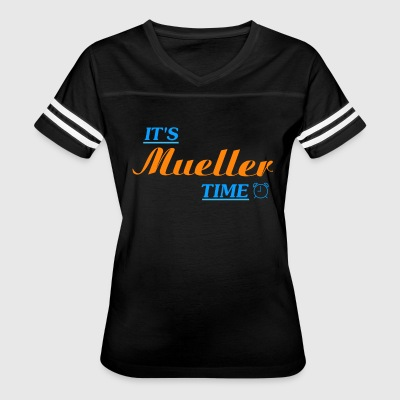 It's Robert Mueller Time Resist Anti Trump Shirt - Women's Vintage Sport T-Shirt