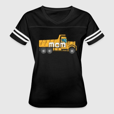 Best Mom Yellow Construction Trucks - Women's Vintage Sport T-Shirt