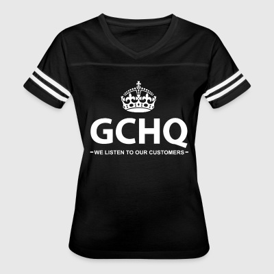 The Government Communications Head Quarters - Women's Vintage Sport T-Shirt