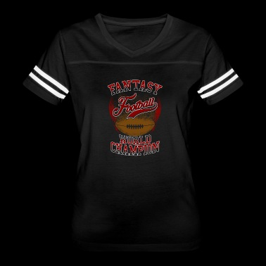 Fantasy Football World Champion - Women's Vintage Sport T-Shirt