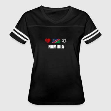Namibia Football Shirt - Namibia Soccer Jersey - Women's Vintage Sport T-Shirt