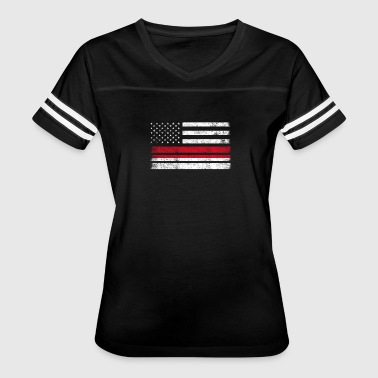 Indonesian American Flag - USA Indonesia Shirt - Women's Vintage Sport T-Shirt