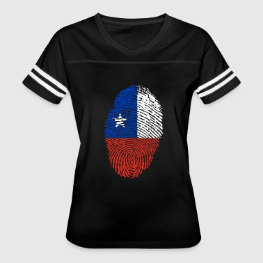 fingerprint i love wurzeln chile - Women's Vintage Sport T-Shirt