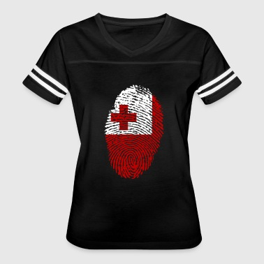 fingerprint i love wurzeln tonga - Women's Vintage Sport T-Shirt