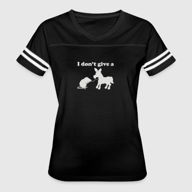 I Don t Give a Rats Ass - Women's Vintage Sport T-Shirt