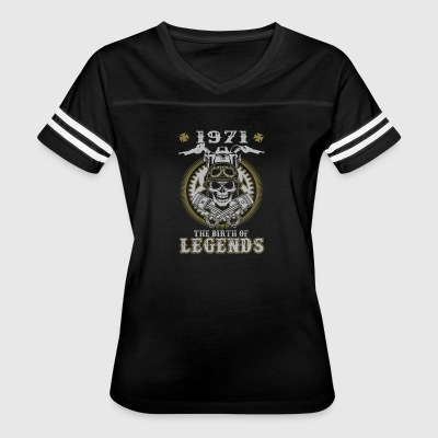 1971 The Birth Of Legends - Women's Vintage Sport T-Shirt