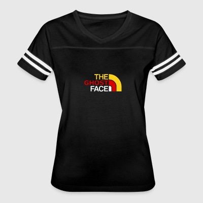 The Ghost Face - Women's Vintage Sport T-Shirt