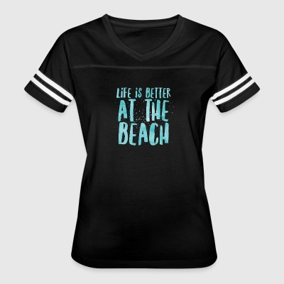 At The Beach - Women's Vintage Sport T-Shirt