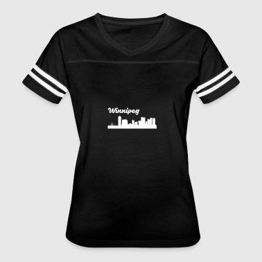 Winnipeg Skyline - Women's Vintage Sport T-Shirt