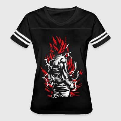 Goku Silluette - Dragon Ball - Women's Vintage Sport T-Shirt
