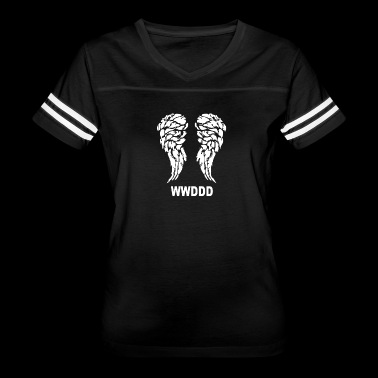 The Walking_Dead What Would Daryl Dixon Do - Women's Vintage Sport T-Shirt