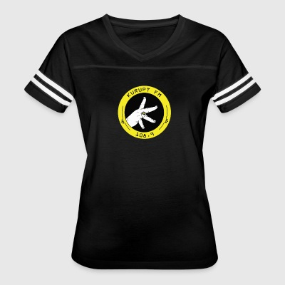 Kurupt Fm Throw Up Your K's - Women's Vintage Sport T-Shirt