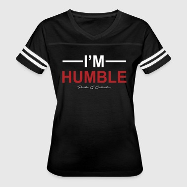 Pastor G Collection - I'm Humble Design - Women's Vintage Sport T-Shirt