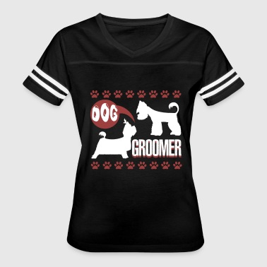CUTE DOG GROOMER SHIRT - Women's Vintage Sport T-Shirt