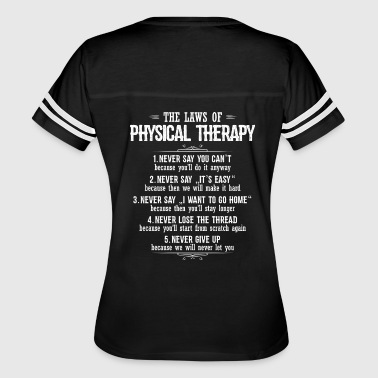 Physical Therapy/Physical Therapist/Gift/Present - Women's Vintage Sport T-Shirt