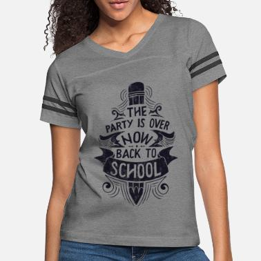 Back To School Back To School - Women's Vintage Sport T-Shirt
