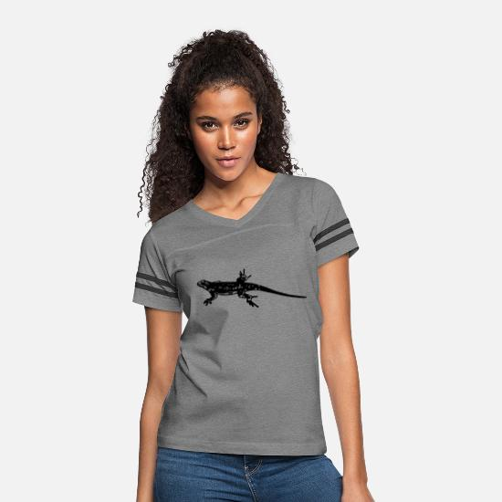 Reptile T-Shirts - lizard - Women's Vintage Sport T-Shirt heather gray/charcoal