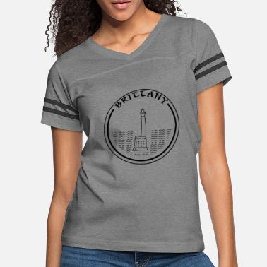 Brittany Lighthouse - Women's Vintage Sport T-Shirt