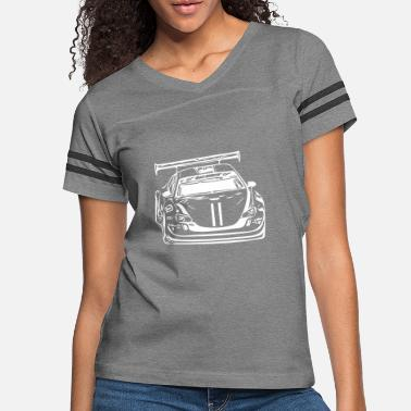 Motor Sport Race Car Motor Sports Powerful Cars - Women's Vintage Sport T-Shirt
