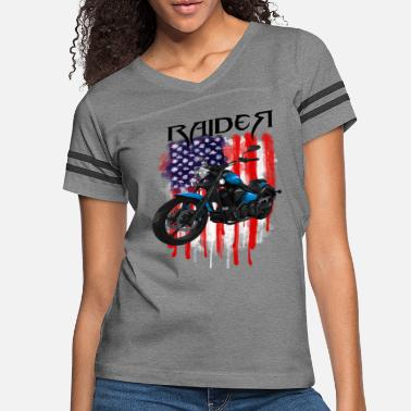 American motorcycle lifestyle - Women's Vintage Sport T-Shirt