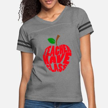 Preschool Has Class With Apple School Teacher Gift - Women's Vintage Sport T-Shirt