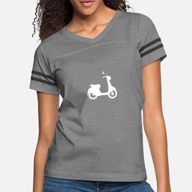 Cycling Motorcycle - Women's Vintage Sport T-Shirt