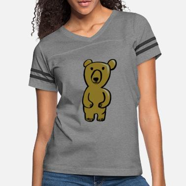 Cute Bear - Women's Vintage Sport T-Shirt