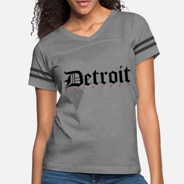 Detroit Vs Everybody Detroit - Women's Vintage Sport T-Shirt