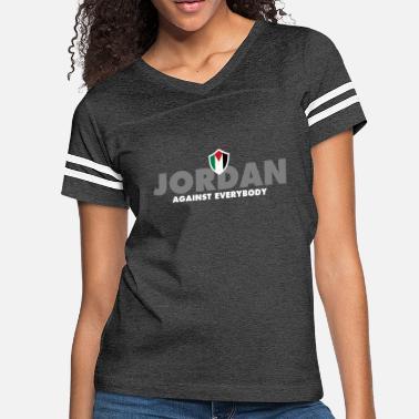 e68cfa5500ccc0 Jordan Football Jordan Against Everybody - Women  39 s Vintage Sport T-Shirt.  Women s Vintage Sport T-Shirt. Jordan Against Everybody