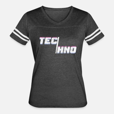 Minimal House Techno Music Minimal House - Women's Vintage Sport T-Shirt