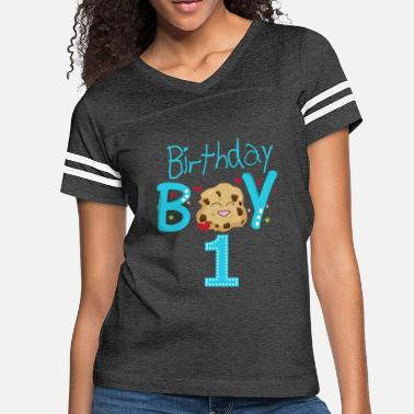 c9575360 Birthday Boy 1 Year Old Birthday Shirt - Women's Vintage Sport T