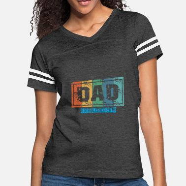 Established Dad - established 2018 - fathers day gift shirt - Women's Vintage Sport T-Shirt