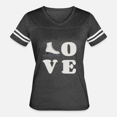 Best Skate Figure Skating Ice Skating Gift - Women's Vintage Sport T-Shirt