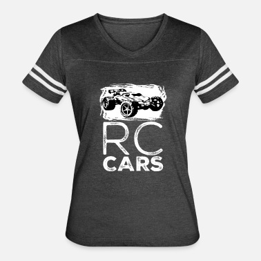 Radio Control RC CARS Radio Remote Controlled Trucks Racing - Women's Vintage Sport T-Shirt
