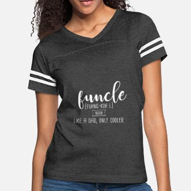 Fun Definition funcle fun uncle definition maenner t shirt - Women's Vintage Sport T-Shirt