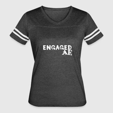 Engaged - Women's Vintage Sport T-Shirt